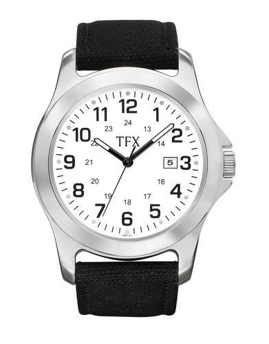 TFX dist by Bulova Mens Strap Company Watch Custom Towel