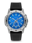 Caravelle New York Men's Silicone Strap Company Watch