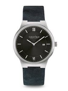 Caravelle New York Men's Strap Company Watch
