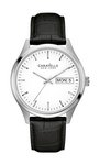 Caravelle New York Men's Strap Black Corporate Exclusives Watch
