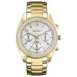 Caravelle New York Ladies Bracelet - Chronograph Crystal Watch