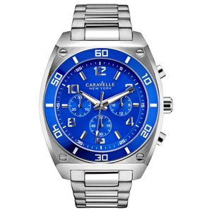 Caravelle New York Men's Bracelet - Chronograph Custom Watch