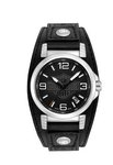 Harley Davidson Timepieces by Bulova Men's Strap - Black