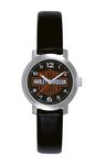 Harley Davidson Ladies Strap - Black Custom Watch