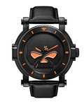 Harley Davidson Men's Strap - Black Custom Watch