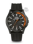 Harley Davidson Timepieces by Bulova Men's Strap Company Watch