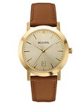 Bulova Watches Men's Strap Custom Watch