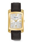 Bulova Watches Men's Strap - Brown - Classic Company Watch
