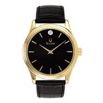 Bulova Watches Mens Strap - Corporate Collection Company Watch