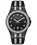 Bulova Watches Men's Bracelet - Crystals Company Watch