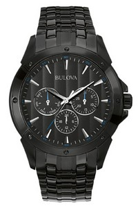 Bulova Watches Mens Bracelet Watch