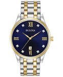 Bulova Watches Mens Bracelet Company Watch