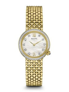 Bulova Watches Ladies Bracelet Company Watch