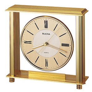 Bulova Clocks Grand Prix (Table) Custom Clock