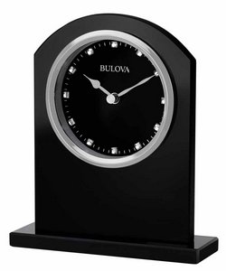 Bulova Clocks Ebony Crystal (Tabletop) Custom Clock