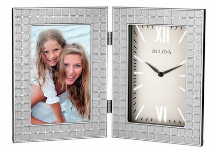 Bulova Clocks Image (Picture Frame) Custom Clock