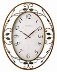 Bulova Clocks Laurel (Decorative Wall - Large) Custom Clock