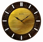 Bulova Clocks Tephra (Decorative Wall - Large) Custom Clock