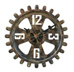 Bulova Clocks Motion (Decorative Wall - Large) Custom Clock