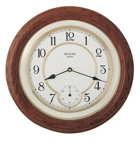Bulova Clocks William (Wall Wooden) Custom Clock