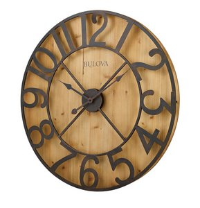 Bulova Clocks Silhouette (Wall) Custom Clock