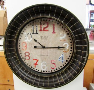 Bulova Clocks Paris (Wall) Custom Clock