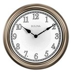 Bulova Clocks Light Time (Wall) Custom Clock