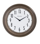 Bulova Clocks Beacon Wall Clock