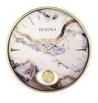 Bulova Clocks Stonemont Wall Clock