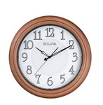 Bulova Clocks Providence Indoor/Outdoor Wall Clock