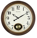 Bulova Clocks Jefferson Wall Clock