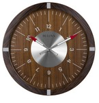 Bulova Clocks AeroJet Wall Clock