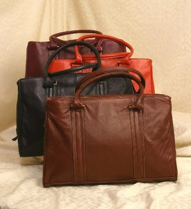 Custom Leather Laptop Briefcase