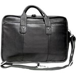 Glacier Canyon Leather Slim-Line Briefcase