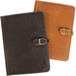 Lee Canyon Leather Meeting Folder/Media Holder