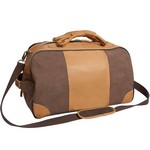 Stilson Canyon Leather Rolling Duffel Custom Leather Luggage