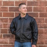 Custom Leather Bomber Jacket Custom Leather Bomber Jacket