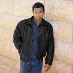 Glen Canyon Men's Black Nappa Classic Jacket