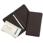 Custom Leather Business Card Case business card case, card case