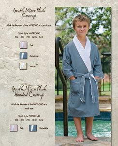 Youth Micro Plush Coverup Custom Robe
