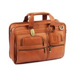 Slimline Executive Leather Brief custom leather briefcase