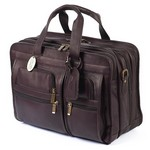 Executive X-Wide Leather Brief