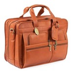 Executive Jumbo Leather Brief