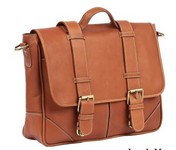 Laredo Leather Messenger Bag