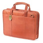 Small File Leather Briefcase