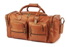 Executive Sport Leather Duffel Bag Custom Leather Bag
