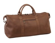 All American Leather Duffel Bag