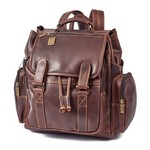 Legendary Jumbo Leather Backpack Custom backpack