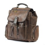 Uptown Leather Backpack