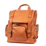Portofino Computer Leather Backpack